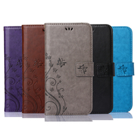 Luxury Retro Flip Case For iPhone 4 4S PU Leather + Soft Silicon Wallet Stand Cover For iPhone 4S Case phone Coque Fundas