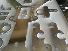 Reprap MendelMax 2.0 complete plates set/kit(drilled & bended) for DIY 3D printer parts Aluminum (drilled & bended)