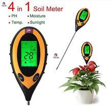 Buy Soil PH Meter Professiona Digital Temperature Sunlight PH Garden Soil Tester Gauge Meter 4 In1 LCD PH Meters Soil Moisture Meter for $18.68 in AliExpress store