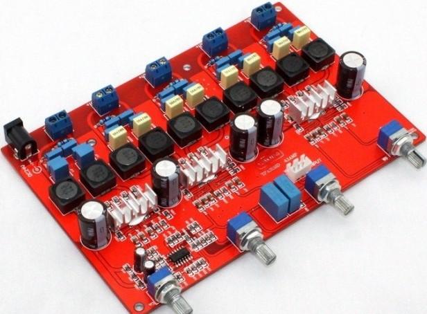 TPA3116 4.1 digital amplifier board (100W +50w* 4) free shipping