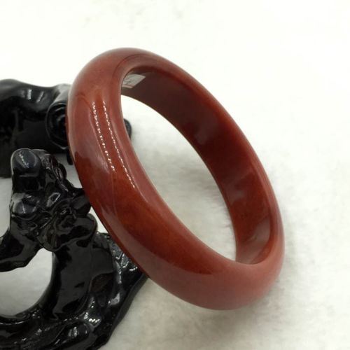A-579 60mm Chinese Natural Beautiful Emerald Brown Nephrite Jade Bangle Bracelet<br><br>Aliexpress