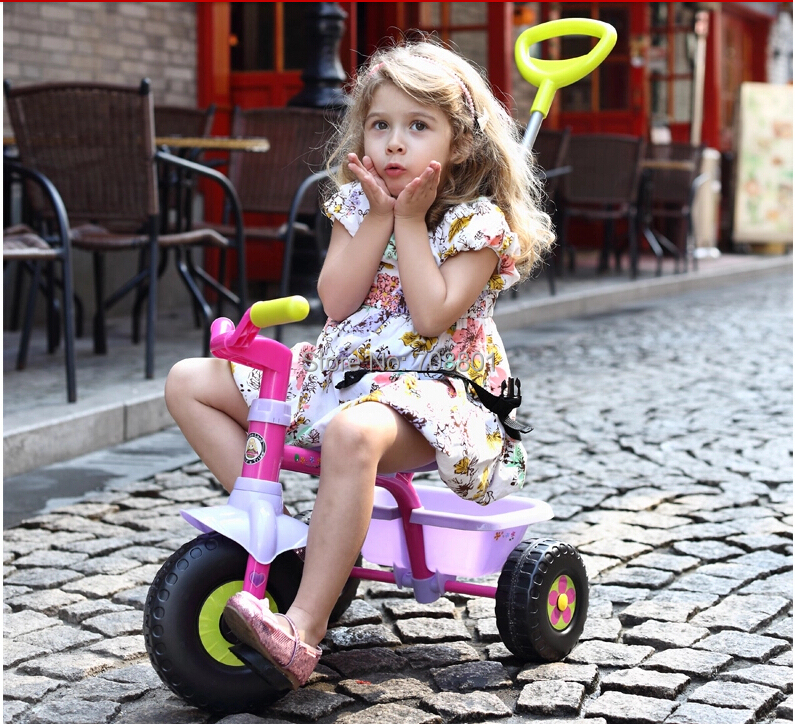 Dexterously type child tricycle,ultra light children trike,high quality, buggy bike trolley bicycle,part country freeshipping!(China (Mainland))