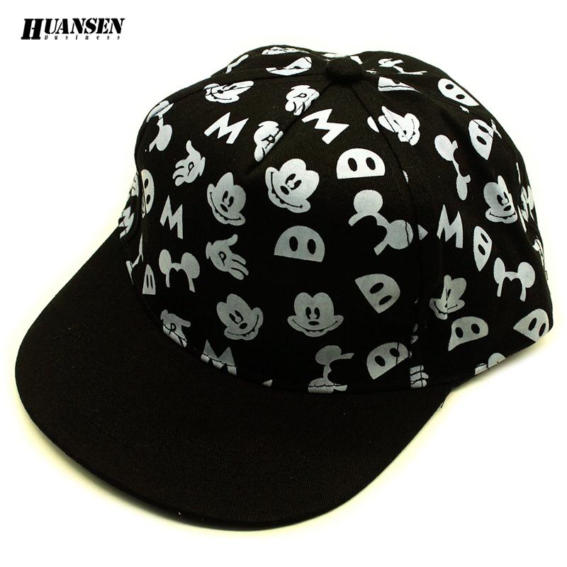 New arrival dot cartoon children fitted hats High quality snapback Popular kids cap Good baseball cap gorras casquette SPMZ051(China (Mainland))
