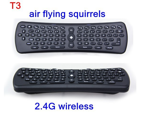 [Hot sales T3] 2.4 G wireless keyboard mouse 6 axis gyroscope air flying squirrels strongest sensitivity - Shenzhen corder xin technology co., LTD store