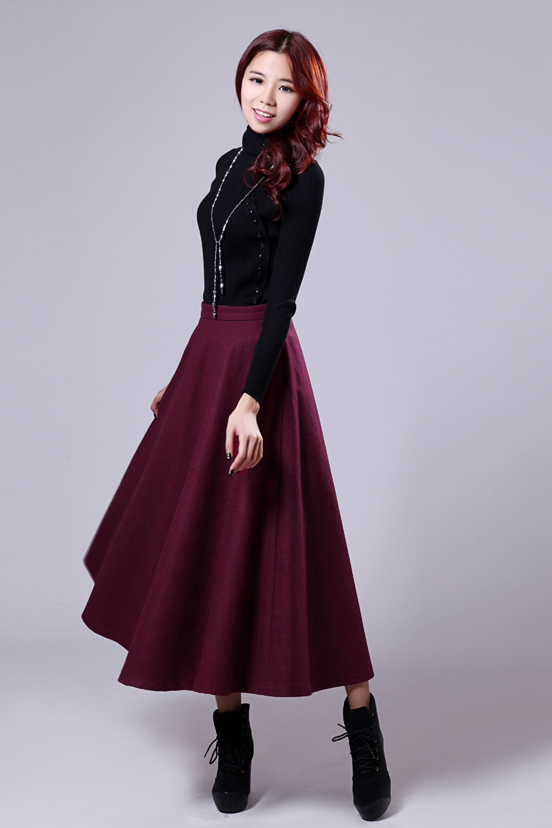 Long Skirts And Dresses