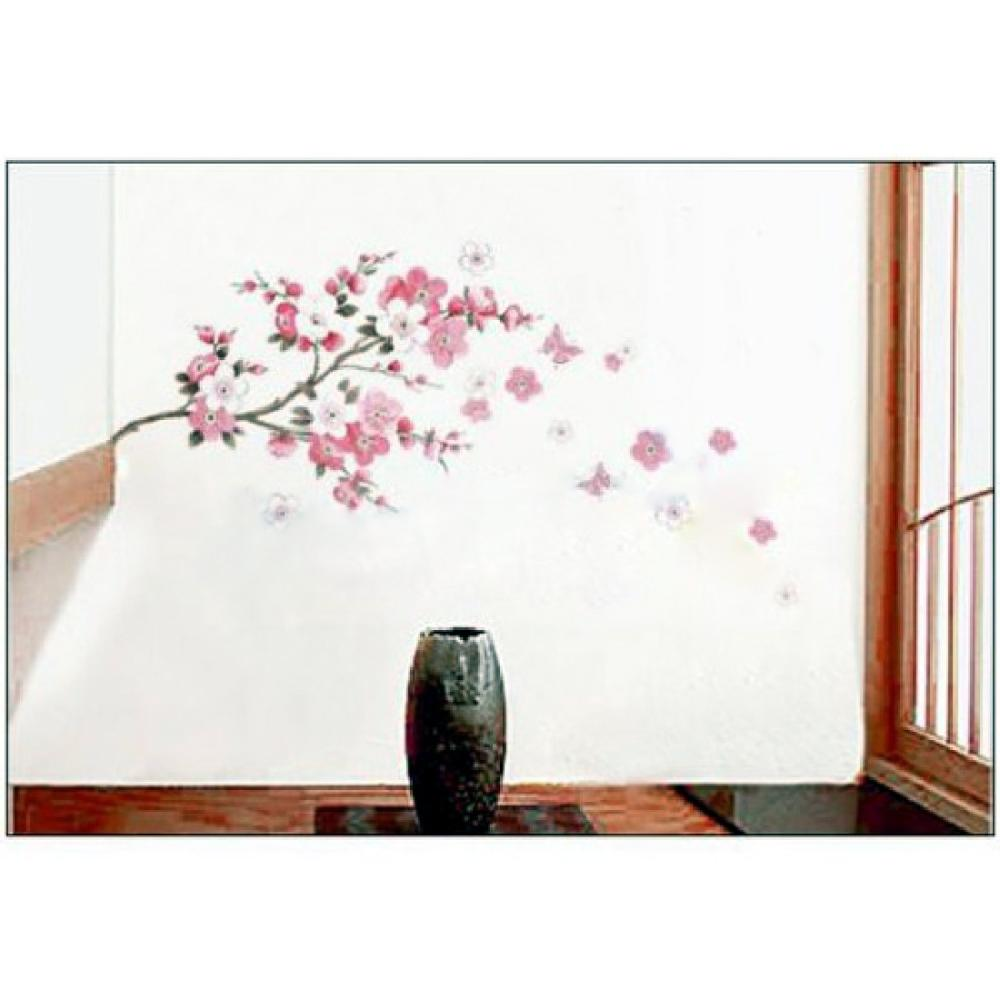Big Cherry Tree Wall Decals Removable adesivo de parede Wall Sticker Home Kitchen Decoration(China (Mainland))