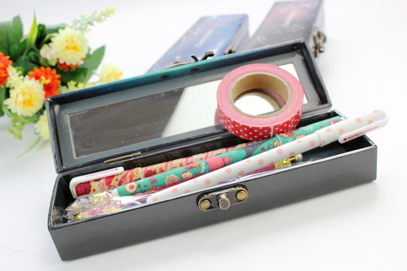 Constellation Paper Pencil Box with Mirror(China (Mainland))