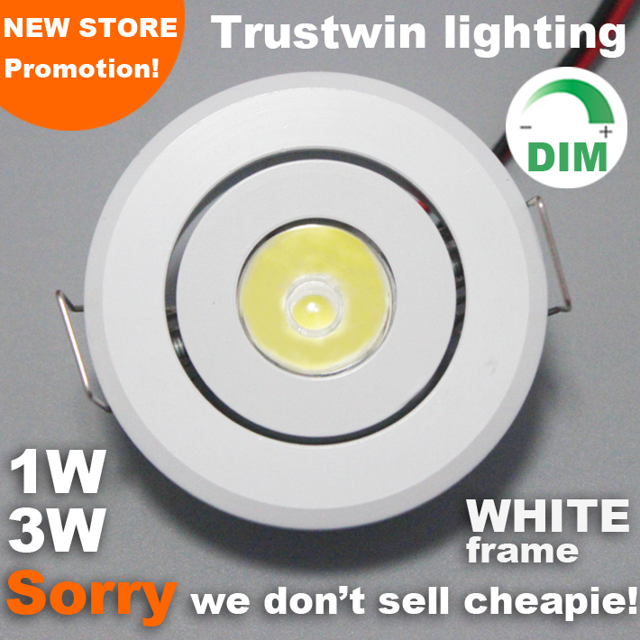 Mini LED ceiling spot light downlight 1W 3W LED stair li