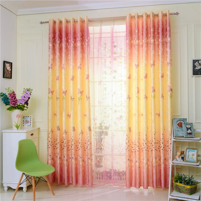 Buy window curtain screening flower beige white sheer for Cortinas moda 2016