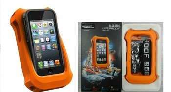 Lifejacket Soft Skin Protect Waterproof Cover Cases Pontoon For iPhone 5 5g