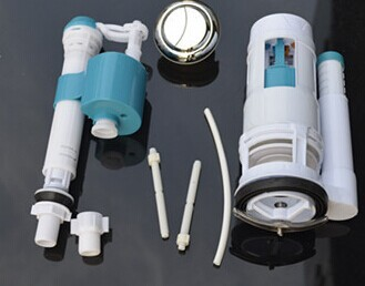 Toilet accessories luxury toilet tank fittings kit for Toilet fixtures and fittings