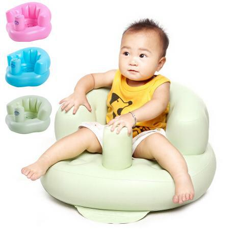 New 2014 Inflatable baby bath stools Babies learn seat The baby chair Small inflatable sofa(China (Mainland))