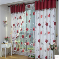 High Quality Traditional Chinese Curtain Window Cortina Bedroom Curtains Living Room Curtain Free Shipping