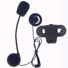 Гарнитура (микрофон, наушник) с элементами крепления. Для T-COMVB TCOM-SC Bluetooth Helmet Intercom Headset BT Interphone