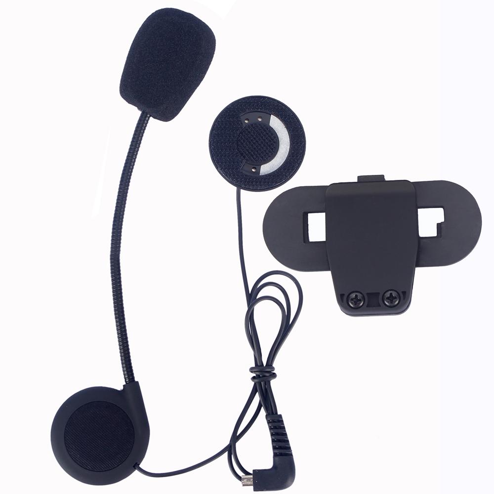 Гаджет  1 Set of Mortorcycle Accessories Kit for Helmet Bluetooth intercom Stereo Headphone Microphone Verclo Tape None Автомобили и Мотоциклы
