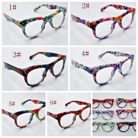 Kids Clear Lens Fashion Glasses MIC Pc Fashion Flower Kids