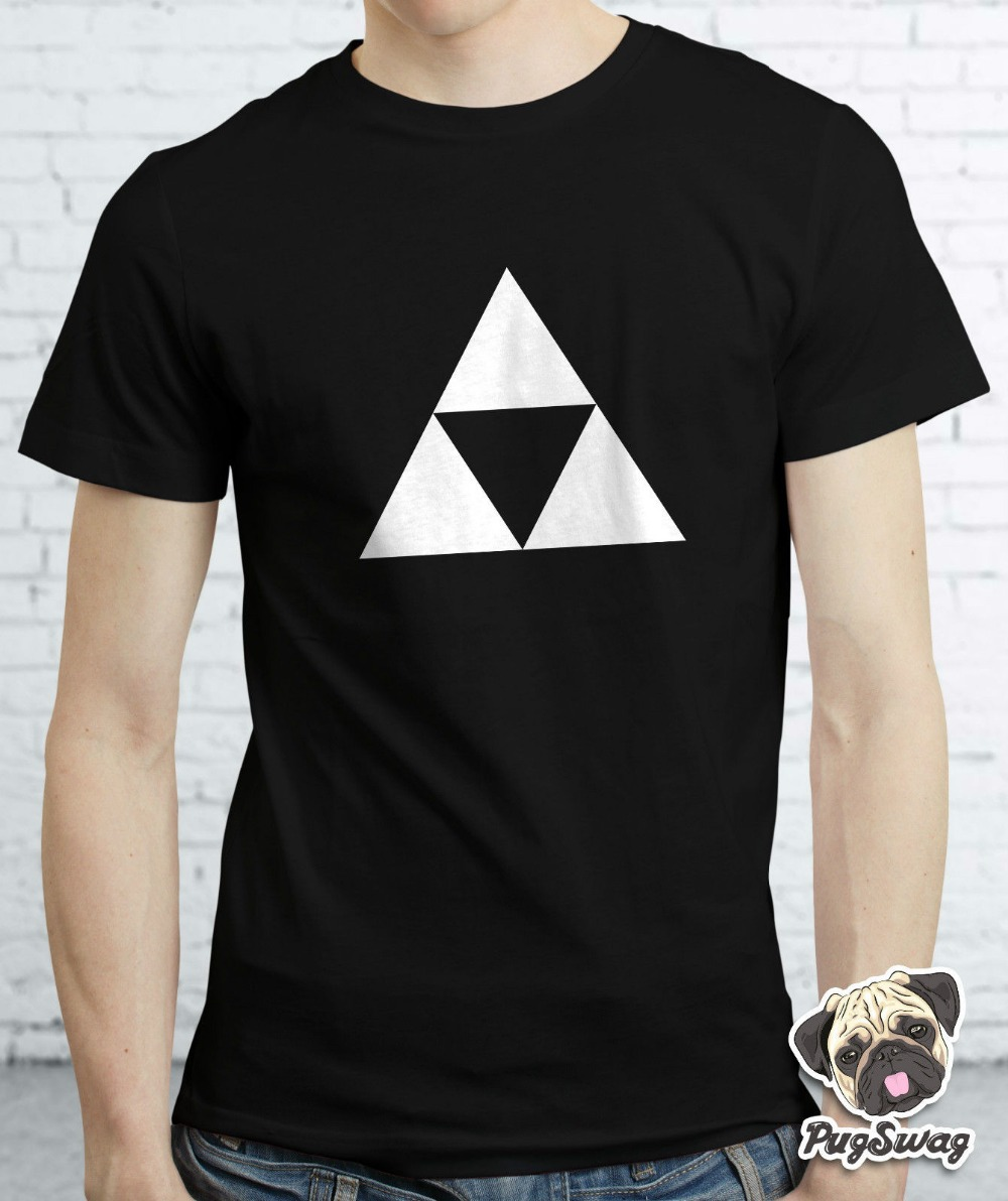 Zelda Triforce Gamer Gaming Tshirt T shirt Tee Mens Cool Funky Retro TShirt Tee Shirt Unisex More Size and Colors(China (Mainland))
