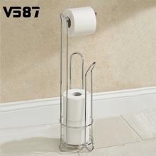 Стойка держатель для туалетной бумаги напольная