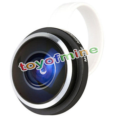 Portable Super Fish Eye Lens 235 Degree Clip For iPone Samsung HTC LG NEW(China (Mainland))