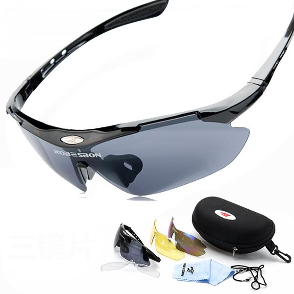 Bicycle Riding Eyewear Oculos Eyewear Goggles Sunglasses Ride Cycling Outdoor Fun & Sports Motorcycle Sunglasses 3 Lens(China (Mainland))