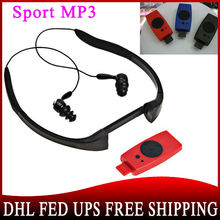 200pcs/lot New Hot 4GB Waterproof MP3 Music Player FM Radio Swimming Surfing SPA IPX8 Sports P10030(China (Mainland))