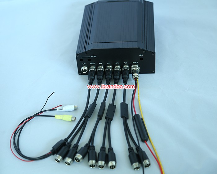 DVR and video cables