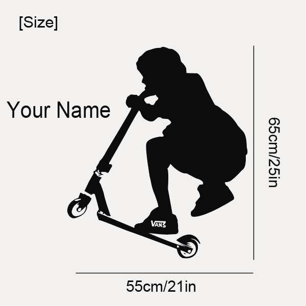 Stickers For Stunt Scooters Perspnalised Stunt Scooter