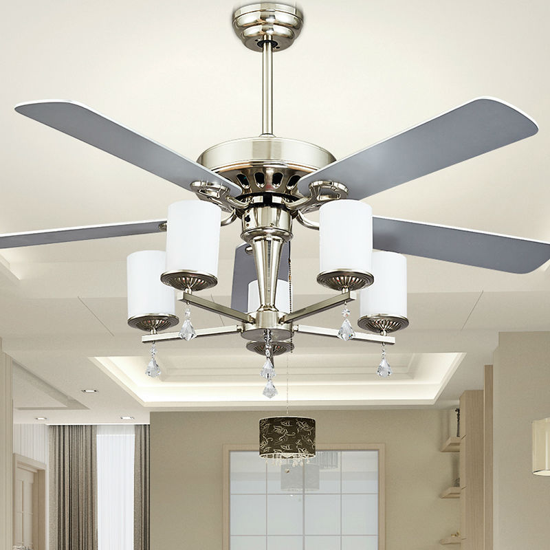 Fashion Ceiling Fan Lights Retro Style Fan Lamps Bedroom Dinning Room Living Room Fan