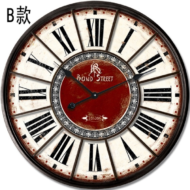 relojes de cocina reloj pared vintage wall sticker clock. Black Bedroom Furniture Sets. Home Design Ideas