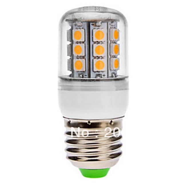 Free Shipping E27/E14 30 SMD 5050 LED LE074 Corn Light Warm/Cold White Spot Light 220-240V Covered