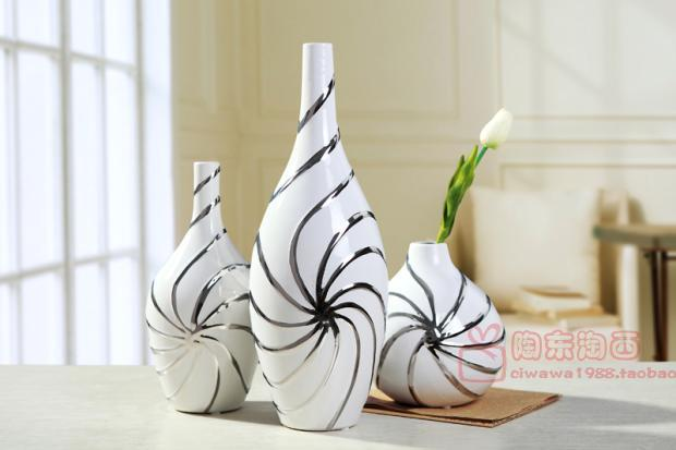 jingdezhen ceramic vase ornaments european modern living room home decor ideas white porcelain. Black Bedroom Furniture Sets. Home Design Ideas