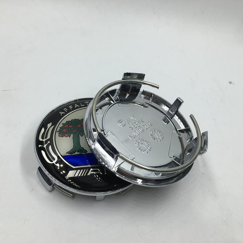 4 pcs 75 mm chrome center de roue hub caps couvre mercedes amg embl me benz logo badge. Black Bedroom Furniture Sets. Home Design Ideas