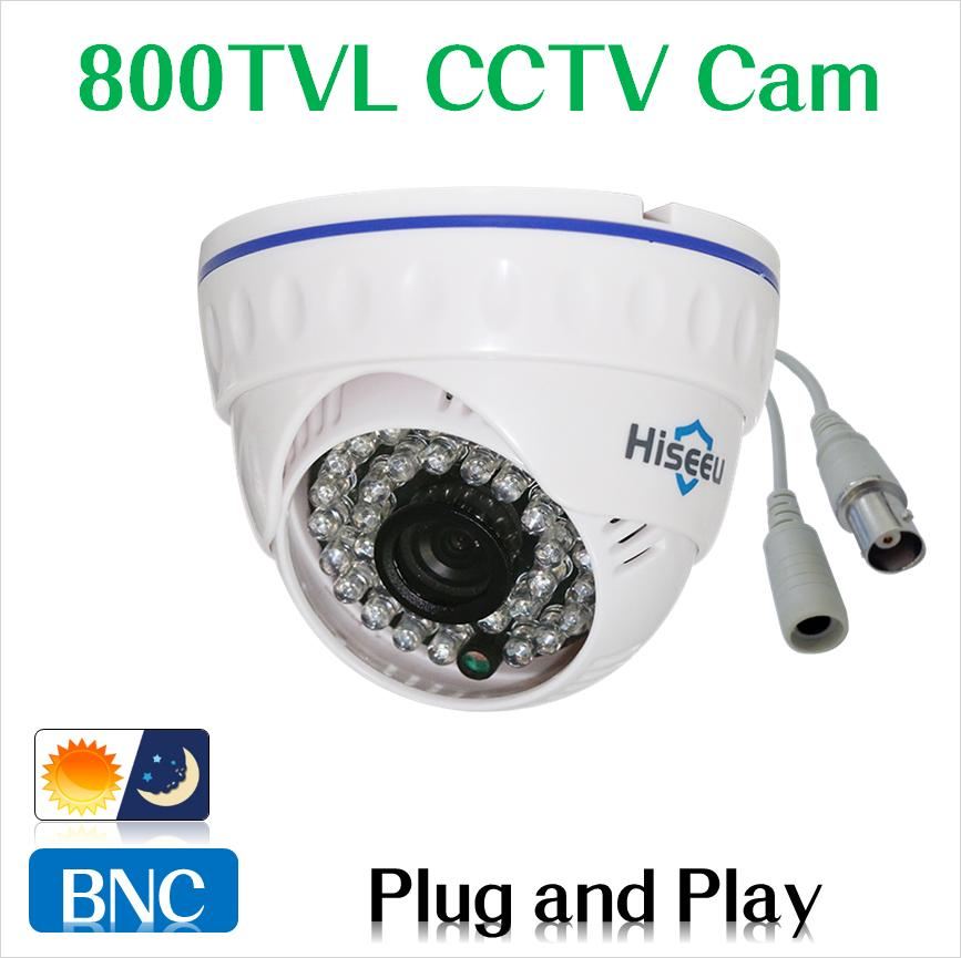 Freeshipping 700TVL 900TVL 1000TVL 1200TVL CCTV Camera Mini Dome Security Analog Camera indoor IR CUT Night Vision Plug and Play<br><br>Aliexpress