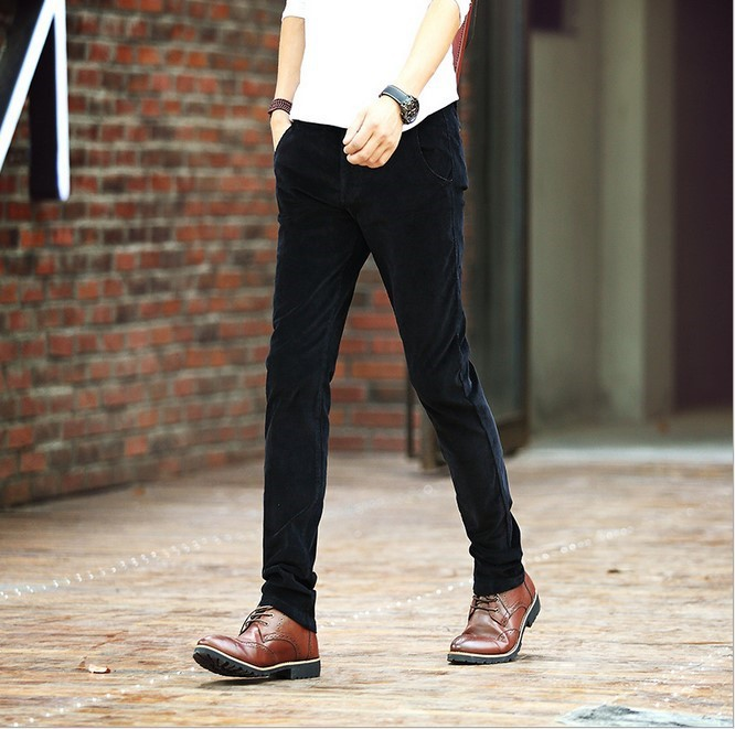 designer corduroy pants - Pi Pants