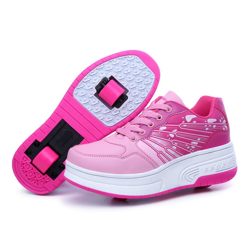 2016 comfortable two wheels heelys roller shoes boys and girls Heelys shoes with wheels children heelys shoes with wheels kids