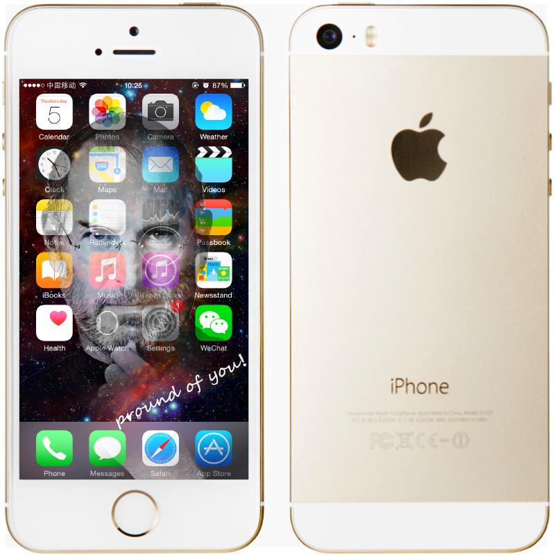 "Original Apple iPhone 5S Unlocked IOS 8 Dual Core Smart Phone 16GB/32GB 4.0""IPS 8MP WIFI GPS SIRI WCDMA 3G Mobile Phone USED(China (Mainland))"