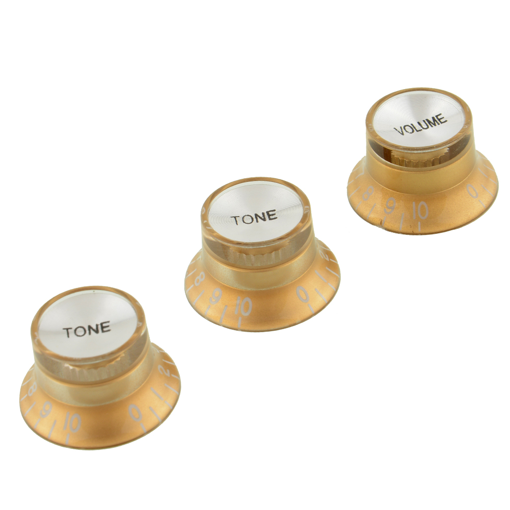 New High quality Volume Tone Control Knob Top Hat Speed Control Knobs For Fender Strat Guitar LP SQ(China (Mainland))