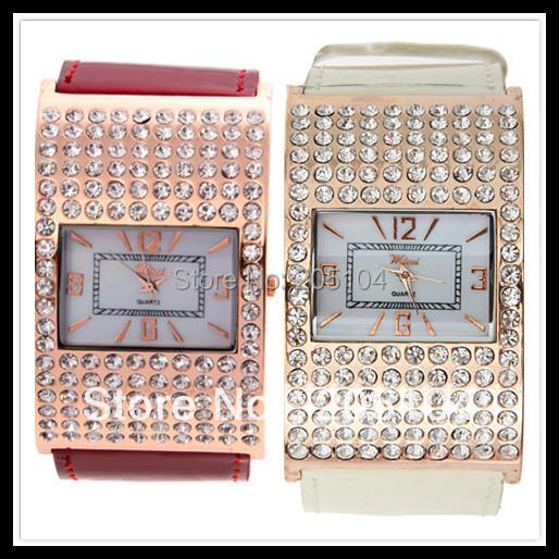 Free shipping Vogue Rubber Quartz Analog Diamond Watch High Quality  Fashion Women  Watch Drop Shipping<br><br>Aliexpress