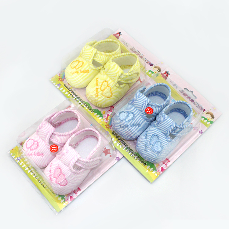 New Cotton Lovely Baby Shoes Toddler Soft Sole Skid-proof First Walkers Kids infant Shoes 3 Colors(China (Mainland))