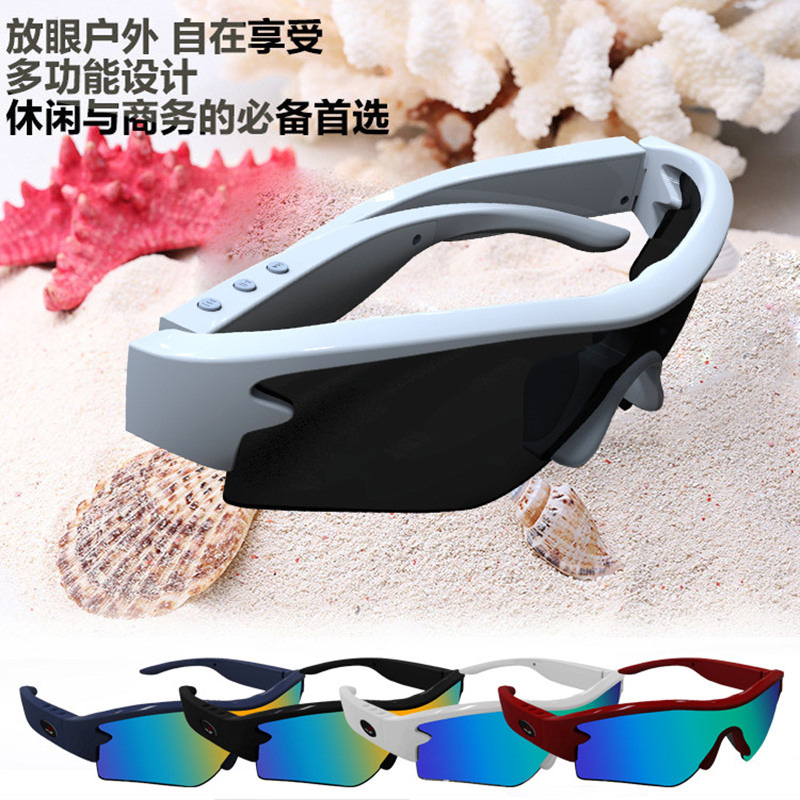 Sports Stereo Wireless Bluetooth Glasses Telephone Headset Headphone Polarized Driving mp3 Sunglasses Riding Eyes Glasses(China (Mainland))