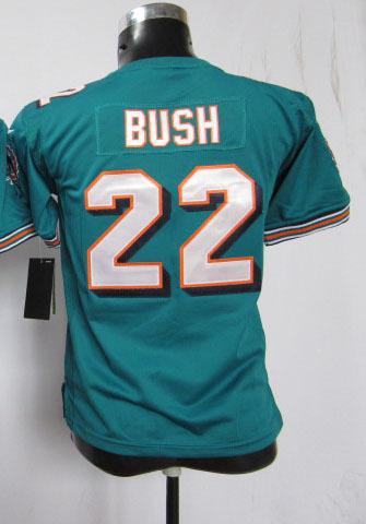football american shirt 22 bush green kids jerseys reggie bush youth jersey(China (Mainland))