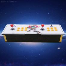High quality wooden Double arcade games console multi game for pandoras box 4 Jamma  arcade joystick(China (Mainland))