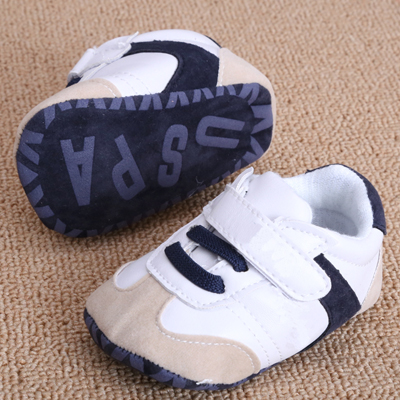 1pair Newborn Baby First Walkers Shoes Boys Girls Kids Infant Toddler Classic Sports Sneakers Soft Soled Anti-slip Shoes b01(China (Mainland))