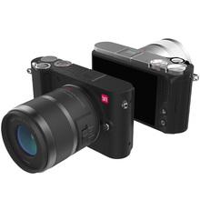 "YI M1 Mirrorless Digital Camera 4k/30fps 3.0"" LCD 20MP Video Recorder WIFI BT 81 AF Points 720RGB H.264 International Edition(China (Mainland))"
