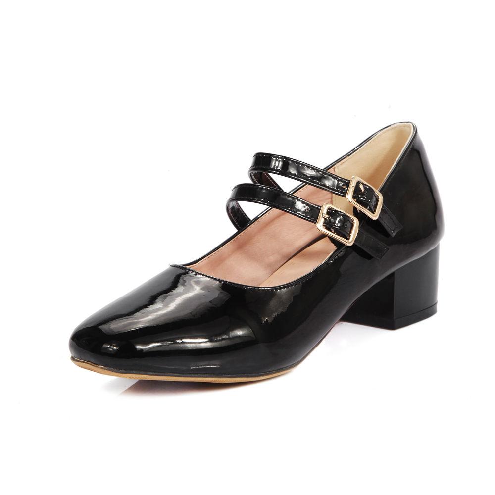 Black White Heels Pumps