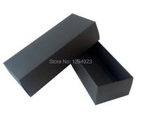 22.5*9.5*4.5cm Large black paper gift box, sock packaging box black