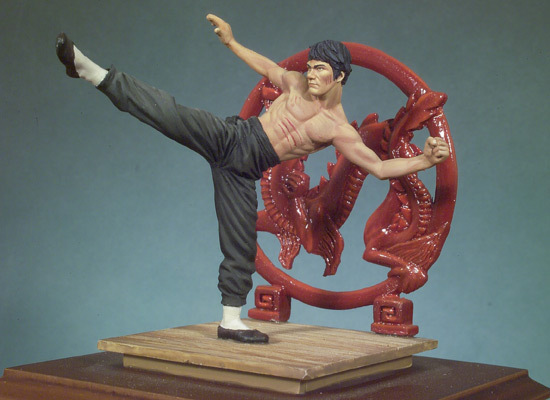 Resin Models Bruce Lee  Death Of The Game  Free Shipping<br><br>Aliexpress