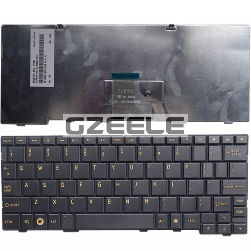 100% NEW Keyboard for Toshiba AC100-01B AZ100 AC100-10D AC100-10U AC100-10Z laptop keyboard(China (Mainland))