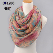 2015 high quality WOMAN SCARF cotton voile scarves solid warm autumn and winter scarf shawl printed free shipping(China (Mainland))