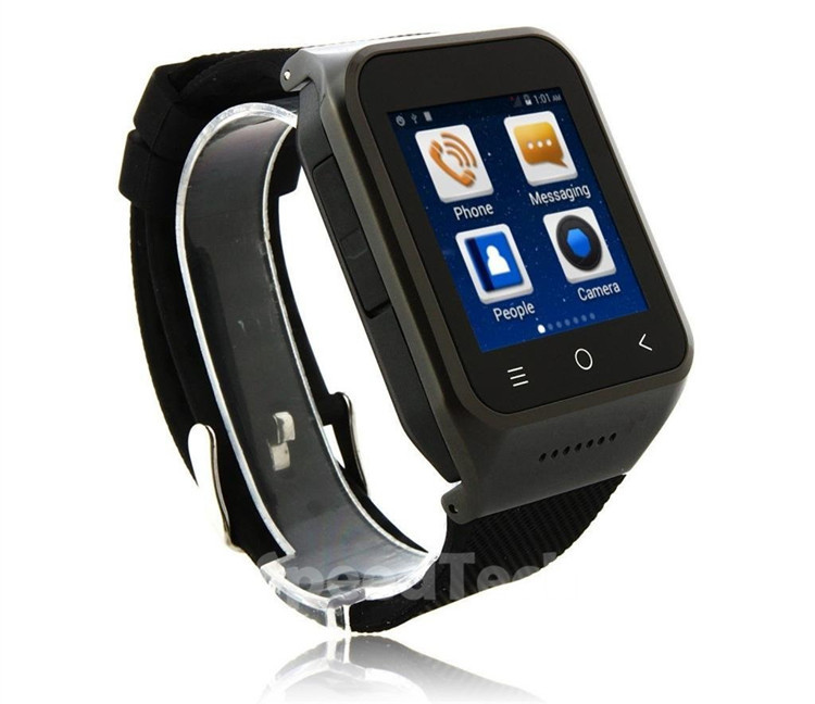 Free shipping S8 Smart Watch Bluetooth 4.0 Android 4.4 Wifi Dual Core MTK6572 1.2GHz GPS 5.0 MP Camera Wristwatch Smartphone(China (Mainland))